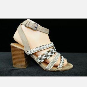 Rebecca Minkoff Leila Beaded Strappy Boho Sandals